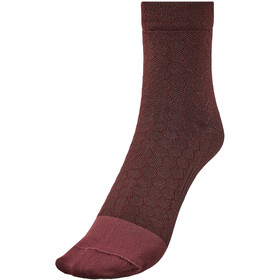 GORE WEAR C3 Heptagon Calcetines Corte Medio, chestnut red